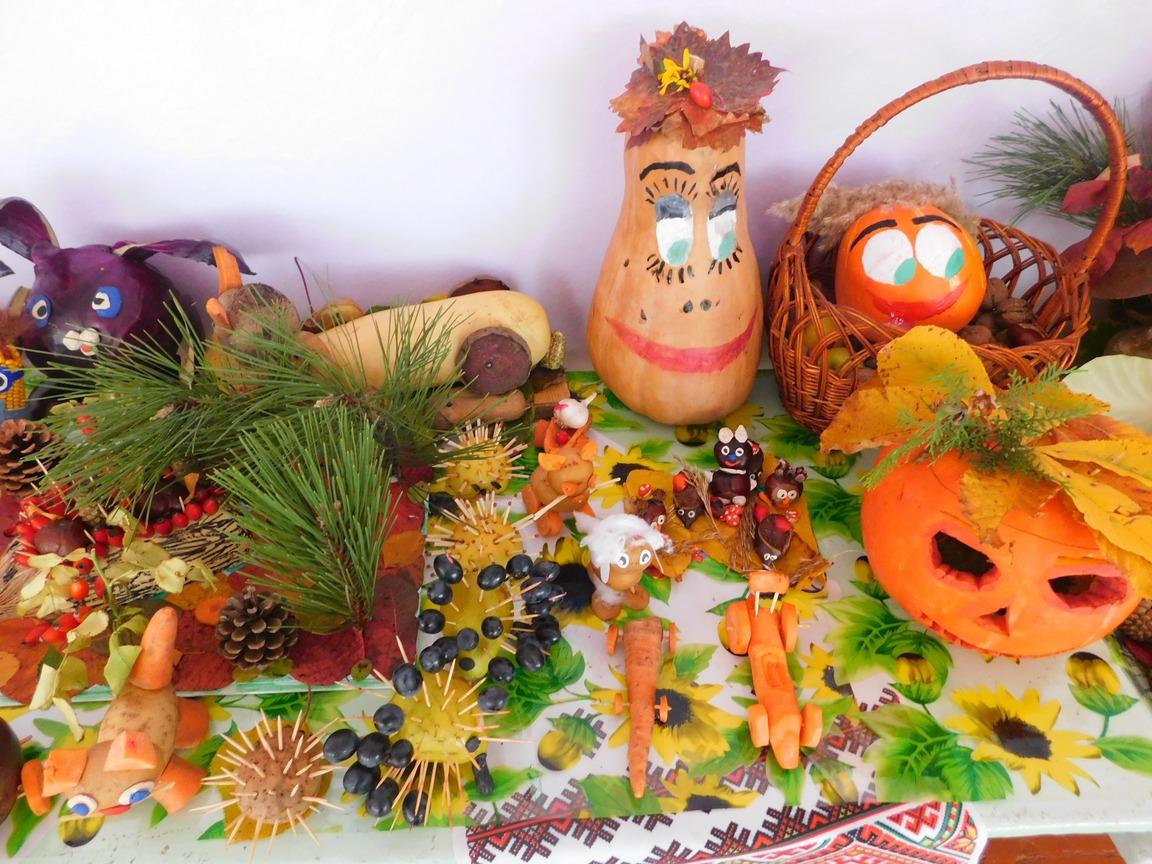 Виставка «Дари Осені» в Плющівській школі | Новини | Баштанська міська  територіальна громада